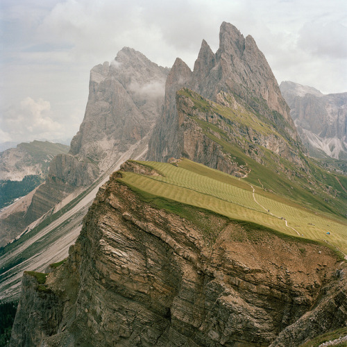 unusualyoung:   untitled by k.kunstadt on Flickr.   The Dolomites, Italy.
