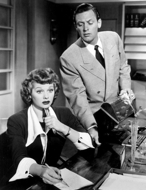 Lucille Ball and William Holden in Miss Grant Takes Richmond (1949)