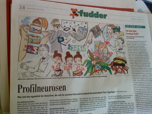 illustrationen für  fudder.
