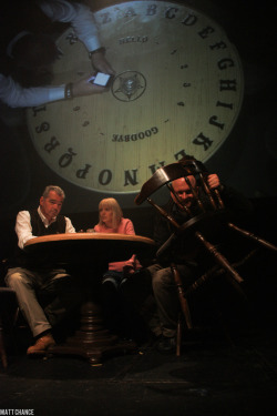 A Ouija Board session on the recent 'Yvette's Night of Fright' stageshows