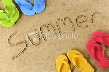 the beach all summer long