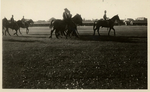 Soldiers on horseback, WWI Brownsville, TX [Black Soldier Series] ©WaheedPhotoArchive, 2011