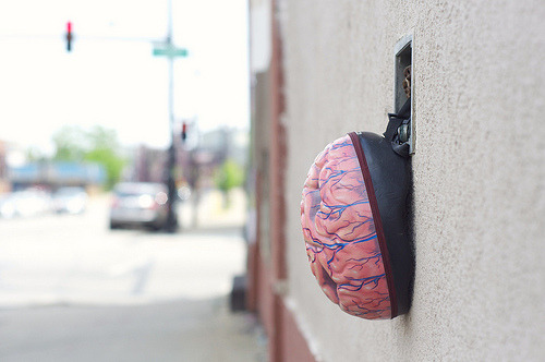 pterodactylpants:  Chicago, 2011 (by PterodactylPants Plush)  Today: Neuroscientist David Eagleman explains why everything we do, think and believe is determined by neural processes in our unconscious brain.