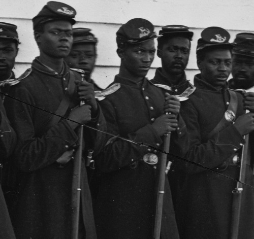 belindapendragon:  Black Civil War Union soldiers…