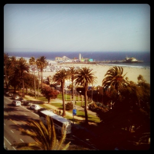 Santa Monica from the Shangri-La on Memorial Day! (Taken with instagram)