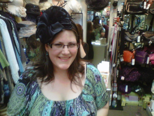This is the hat I *almost* bought for the Scotland wedding (2 days!) but it was too expensive.