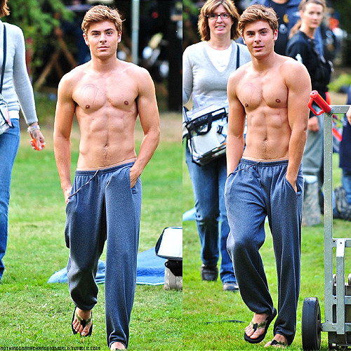 I wish Zac Efron would walk around my neighborhood shirtless.