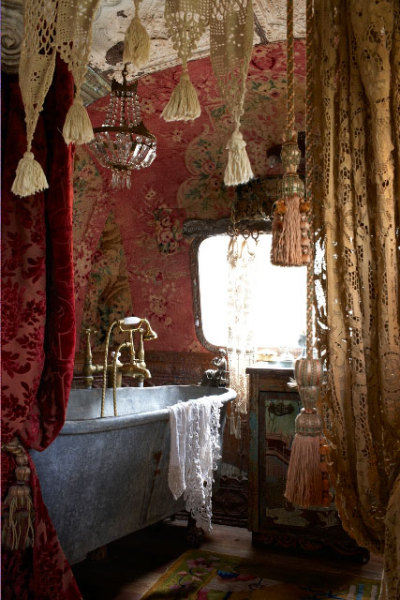 la-vie-en-rose-:  I want my bathroom to look like this!