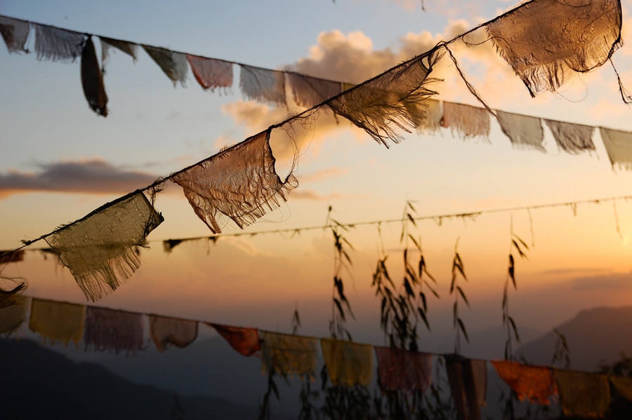 Prayer Flags by Jay Kim