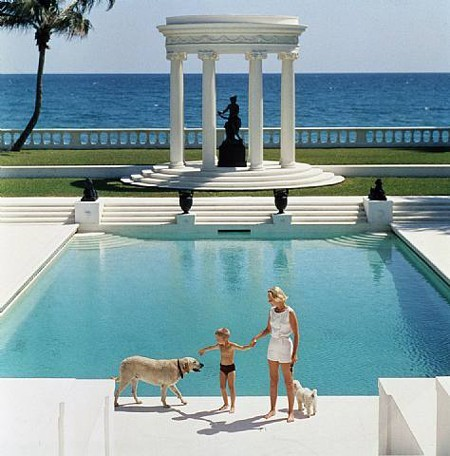 palm beach, florida 1955 : slim aarons {via pinterest}