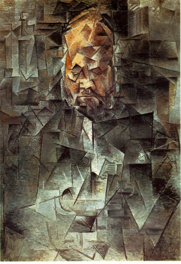 Pablo Picasso (1881-1973) Portrait of Ambroise Vollard 1912