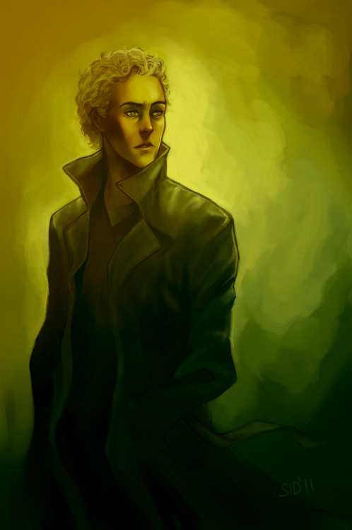 balphesian:  Sommore painting practice. Magnus Martinsson, from Wallander. I kind of love him. ;u;
