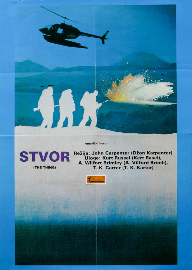 Stvor (The Thing) - Yugoslav Poster
