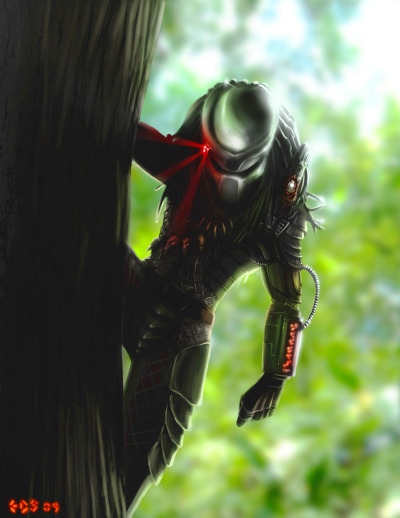 all-about-villains:  Predator by Eduardo Dominguez
