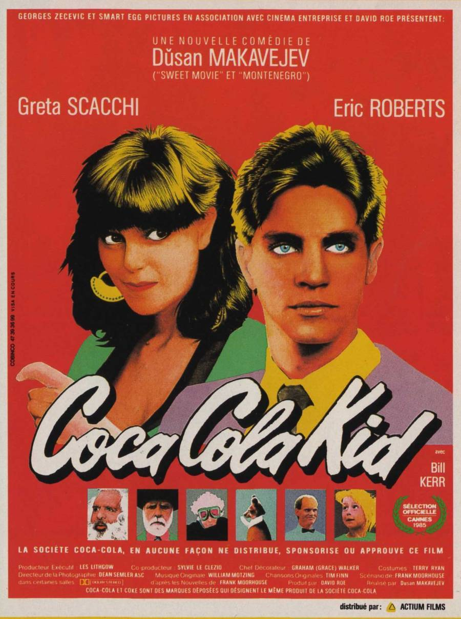 The Coca-Cola Kid (1985) by Dusan Makavejev (French Poster)