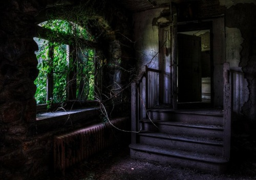 luthienthye:  ominousplaces:  Asylum. Photo by Derek Dallow.  SUPER CREEPY!!! GHI where are you??
