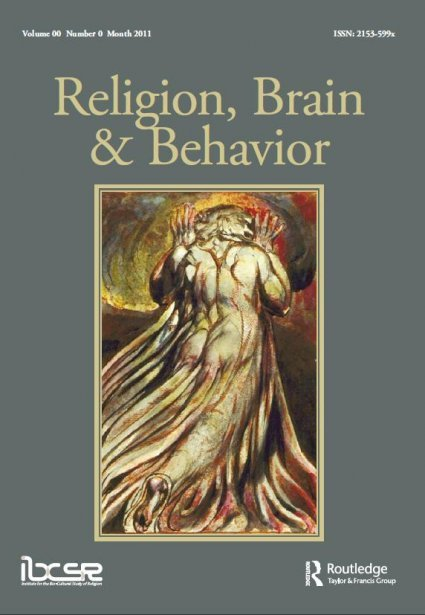 Religion, Brain and Behavior - The first specialized journal on evolutionary studies of religion