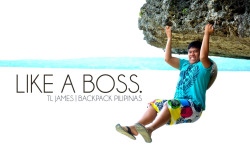 Meet Backpack Pilipinas's Team Leader, Christian JAMES! We haven't been introduced yet but I love him already!:))