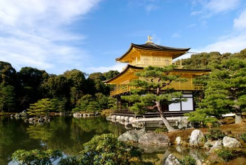 536. Go see The Golden Pavilion in Japan