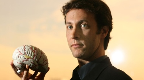 "Neuroscientist David Eagleman on our unconscious minds: ""All of our lives — our cognition, our thoughts, our beliefs — all of these are underpinned by these massive lightning storms of [electrical] activity [in our brains,] and yet we don't have any awareness of it. What we find is that our brains have colossal things happening in them all the time."""