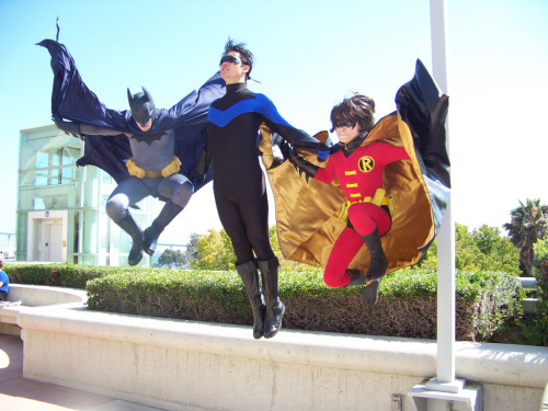 Jump into Action! For more comic book cosplay goodness, follow Geeks in Tights!