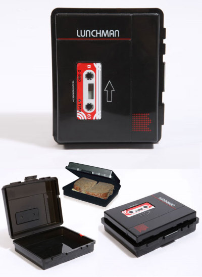 Lunchbox That Looks Like A Cassette Player