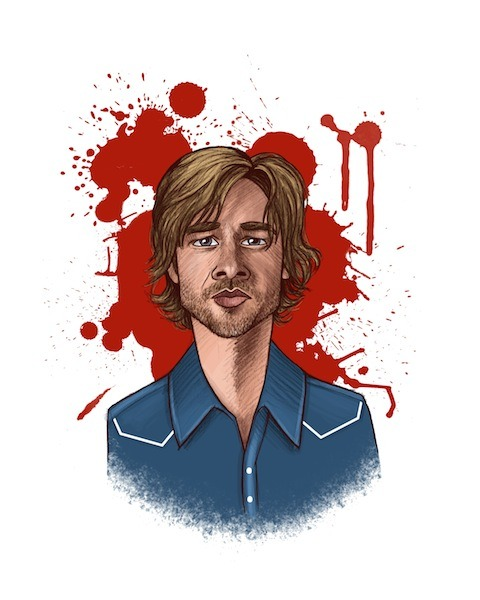 """Sam Merlotte"" by Jade Sheldon"