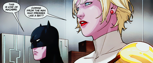 Power Girl is my wet dream /TMI.