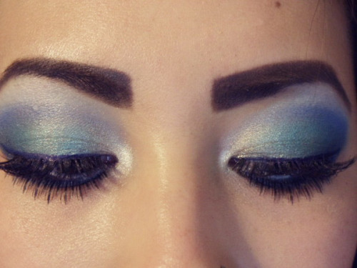 Look at these pretty peepers on Beautylish user Megan N - And then check out this makeup tutorial to get your own mermaid inspired look!