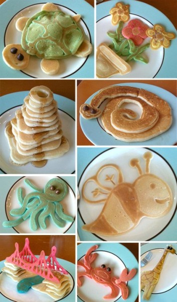 These have got to be the CUTEST pancakes ever. (via pinterest)