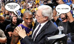 In photo: Kobe Bryant and Phil Jackson, NBA Finals
