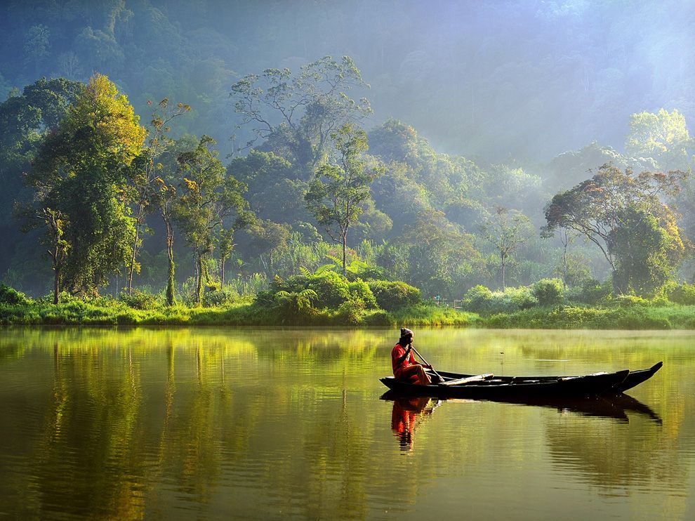 Situ Gunung, Indonesia Photograph by Hardi Budi Taken at a lake named Situ Gunung in Indonesia.