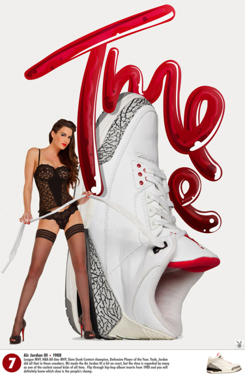 #7 of 23 Nice Kicks Countdown… Playboy x Air Jordan … Click to see them all