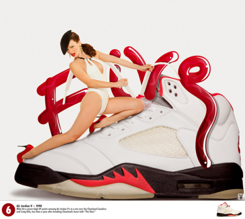 #6 of 23 Nice Kicks Countdown… Playboy x Air Jordan … Click to see them all