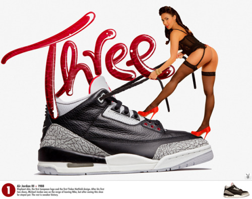 #1 of 23 Nice Kicks Countdown… Playboy x Air Jordan … Click to see them all