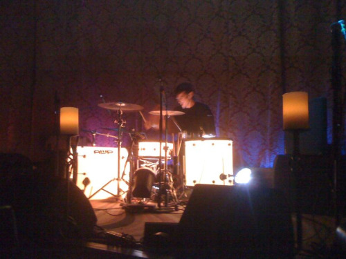 Day 5 - St.Rocke in Hermosa Beach - Eli James doesn't have drums, I think he plays some kind of spaceship.