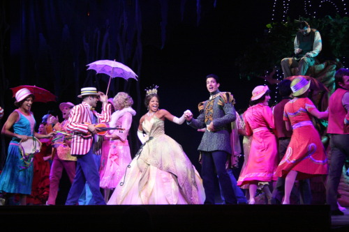 Tiana and Naveen in Disney's Believe on the Dream
