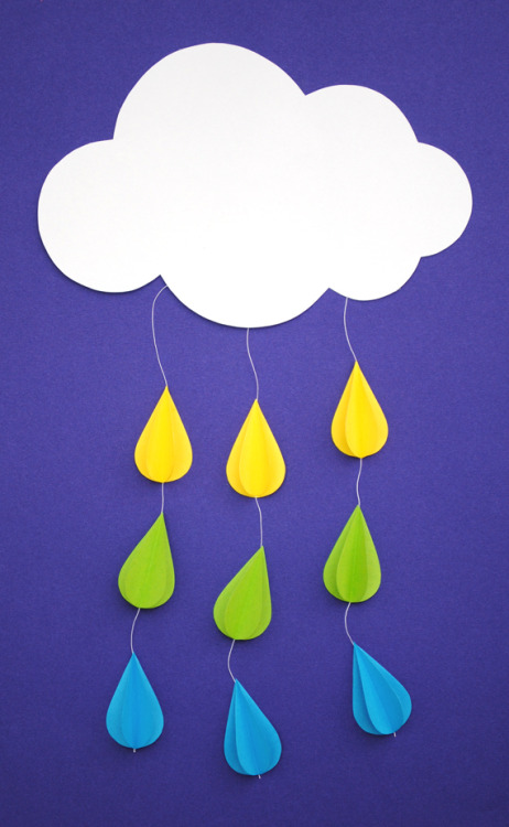 Rainy day Mobile DIY via Mini Eco