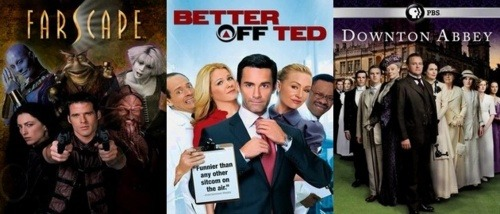 Farscape, Better Off Ted, and Downton Abbey