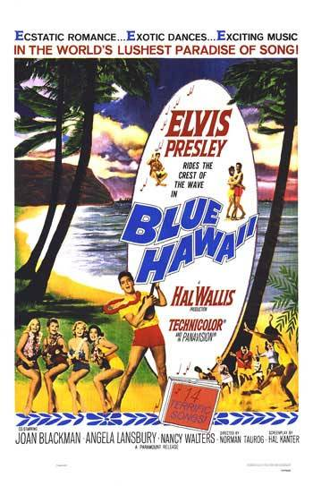 1961, Blue Hawaii movie poster