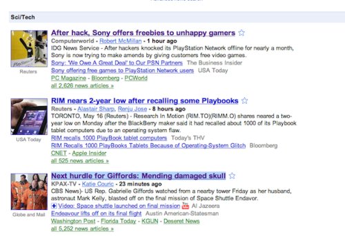 Eventually, One Of These Updates Will Make Google News Not Suck At Tech News, Right?