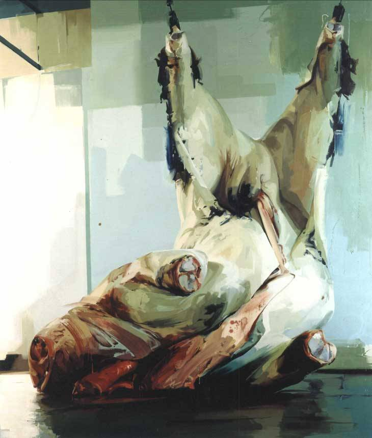 Jenny SavilleTorso 22004Oil on canvas360 x 294 cm