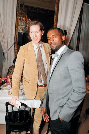 Wes Anderson and Kanye West