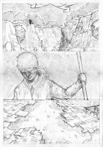 rough pencils for page 3. to see how they turn out:  http://maxquy.tumblr.com/