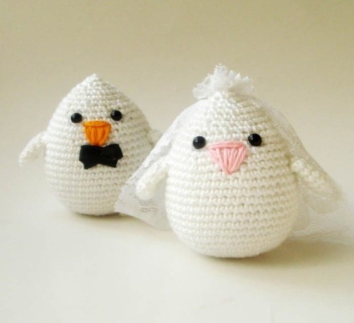 mariapalito:  (via Wedding Couples Bride and Groom Birds by sabahnur on Etsy)