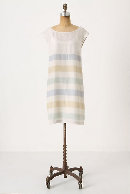 tallgirltales:  Three things I love all in one dress: Anthropologie, stripes, a price less than $60. Sold.