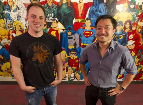 dcu:  Geoff Johns and Jim Lee seem happy about DC's big changes, but are comic book retailers? CLICK HERE to find out…  Summer of Megadeth is not in favor of either of these people.