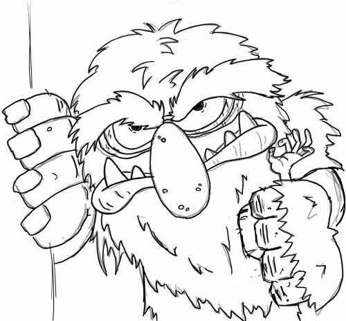 Sweetums - Sketch