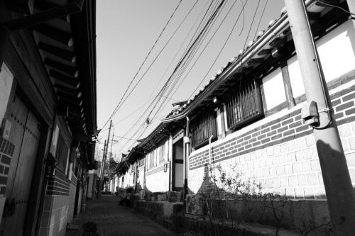 가회동 hanok homes