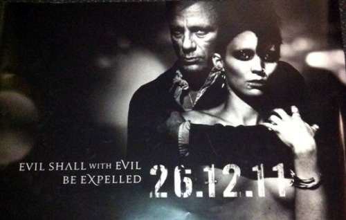 Another look at poster art for The Girl with the Dragon Tattoo' [sNSFW] | Latino Review